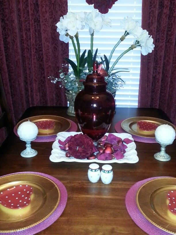 Valentines Table scape 2015