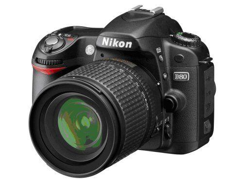 Nikon D80 10 2mp Digital Slr Camera Kit With 18 135mm Af S Dx Zoom Nikkor Lens Digital Slr Camera Nikon D80 Digital Slr