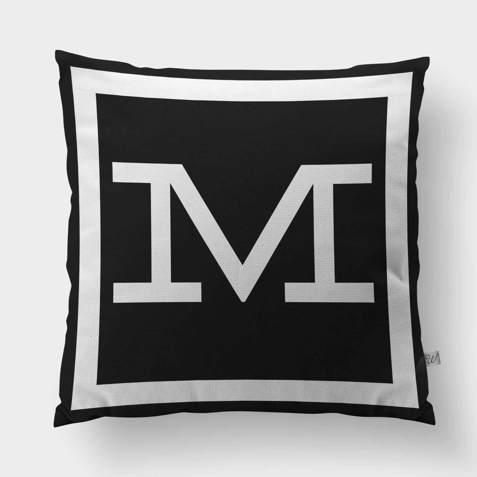Capa De Almofada Monograma M | Storehouse Home Decor   69,00