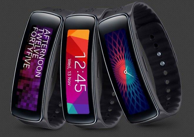 Samsung Gear Fit, un reloj inteligente algo diferente