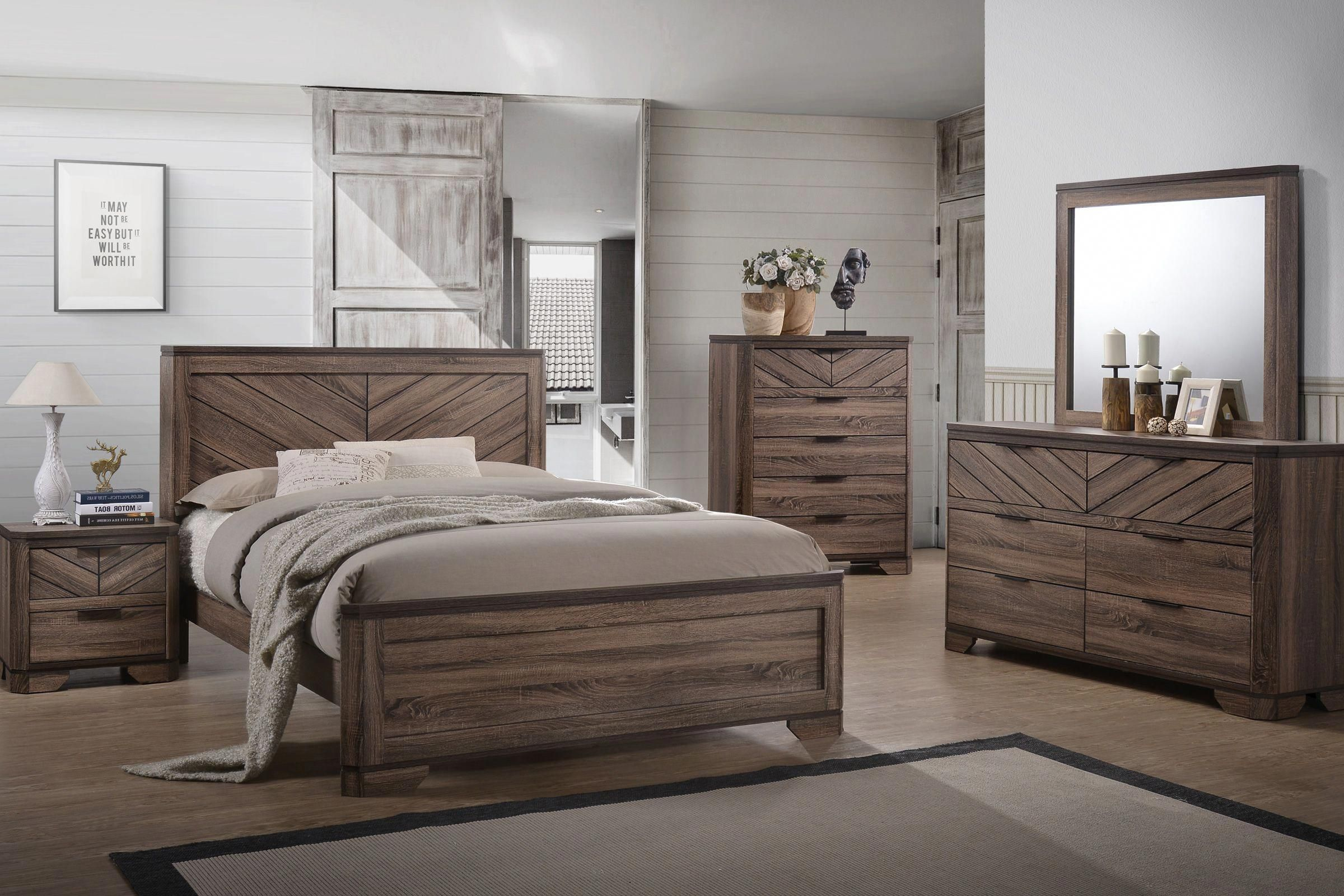 Best Seaburg 5 Piece King Bedroom Set With Images King 400 x 300