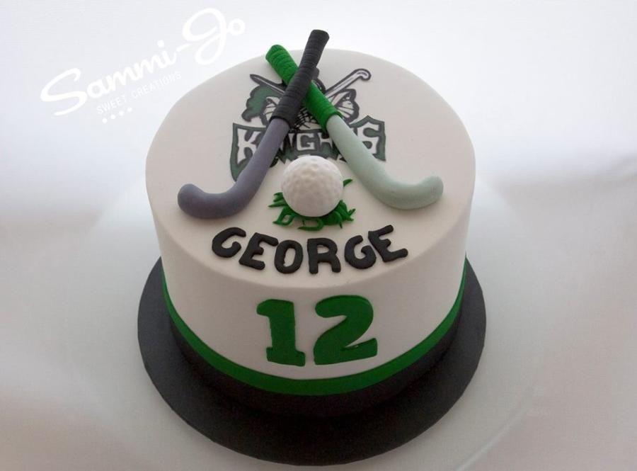 Field Hockey Cake Hockey Cakes Sports Themed Cakes Hockey Birthday Cake