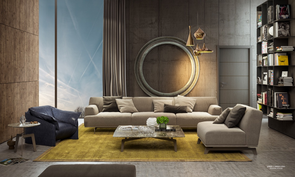 20 Creative Living Rooms For Style Inspiration With Images Art
