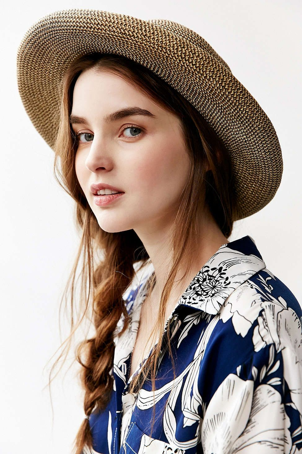 Keaton Rolled Straw Hat - Urban Outfitters  a8c7b48be330