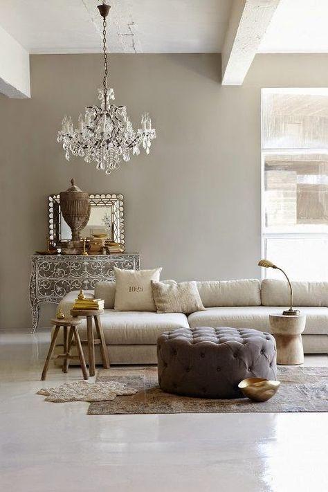 Home colors - Greige | Pareti soggiorno, Colori pareti ...