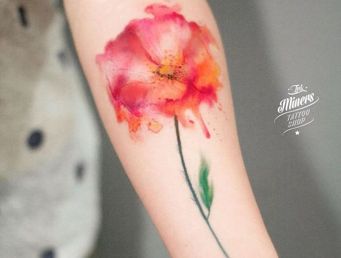 Tatouage Coquelicot Un Champ De 52 Modeles En Photos