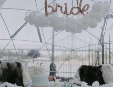 Von Alaska inspirierte Brautparty im Winterwunderland – Confetti Fair   – CELEBRATIONS | Weddings