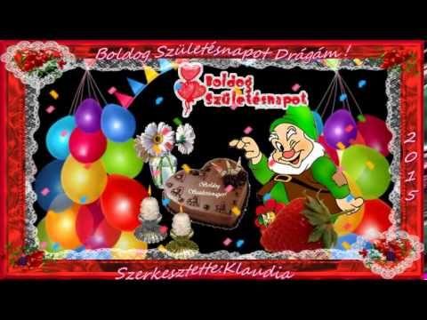 youtube boldog születésnapot ♥Boldog Születésnapot ♥  ♥ Hupy Birthday ♥   YouTube | zene  youtube boldog születésnapot