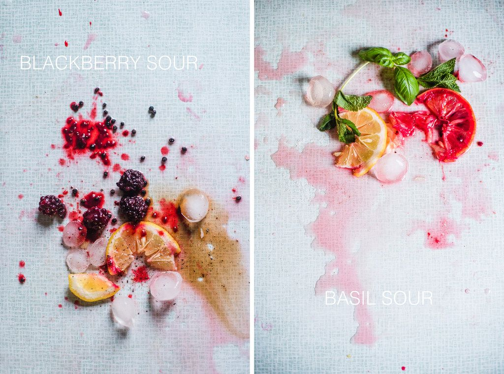 LM – deconstructed drinks