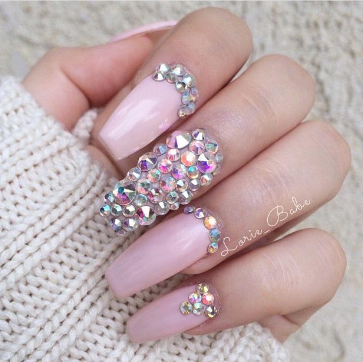 Pin by Monica Hurtado on Nails | Pinterest | Coffin nails