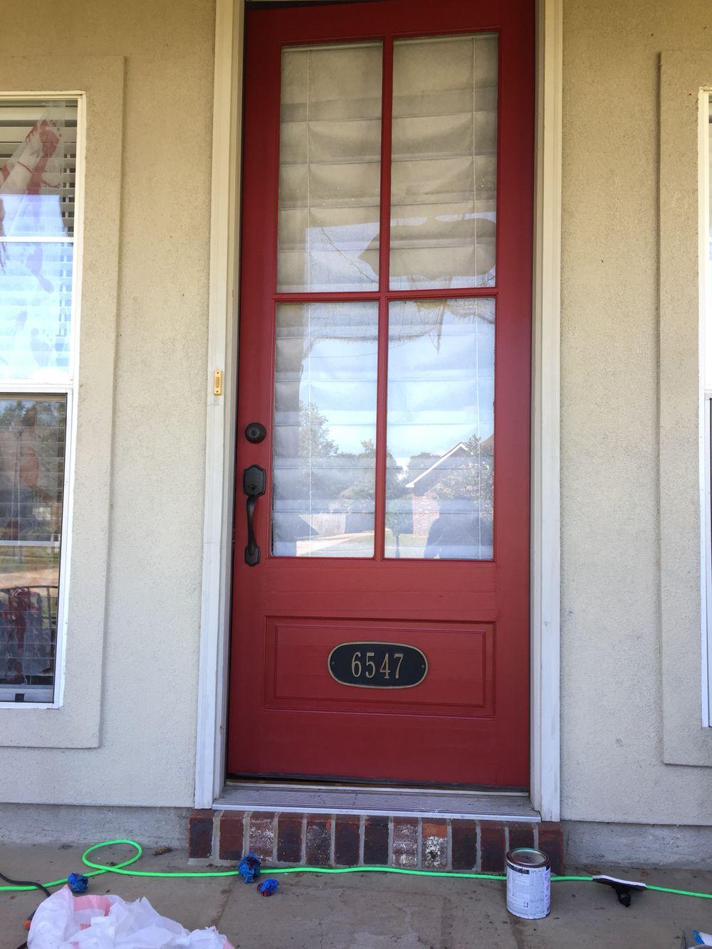 sherwin williams stolen kiss red front door patio garage lawn pinterest front doors. Black Bedroom Furniture Sets. Home Design Ideas