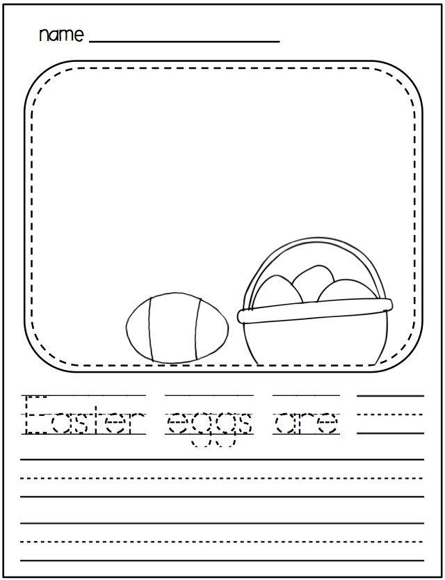 Spring Writing For Kindergarten Kindergarten Kindergarten