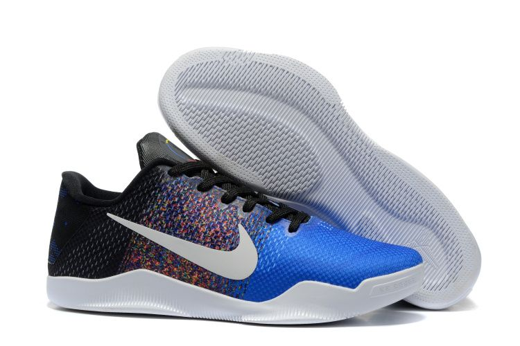 more photos 63e1e 20852 Cheap Nike Kobe 11 Shoes Black Blue
