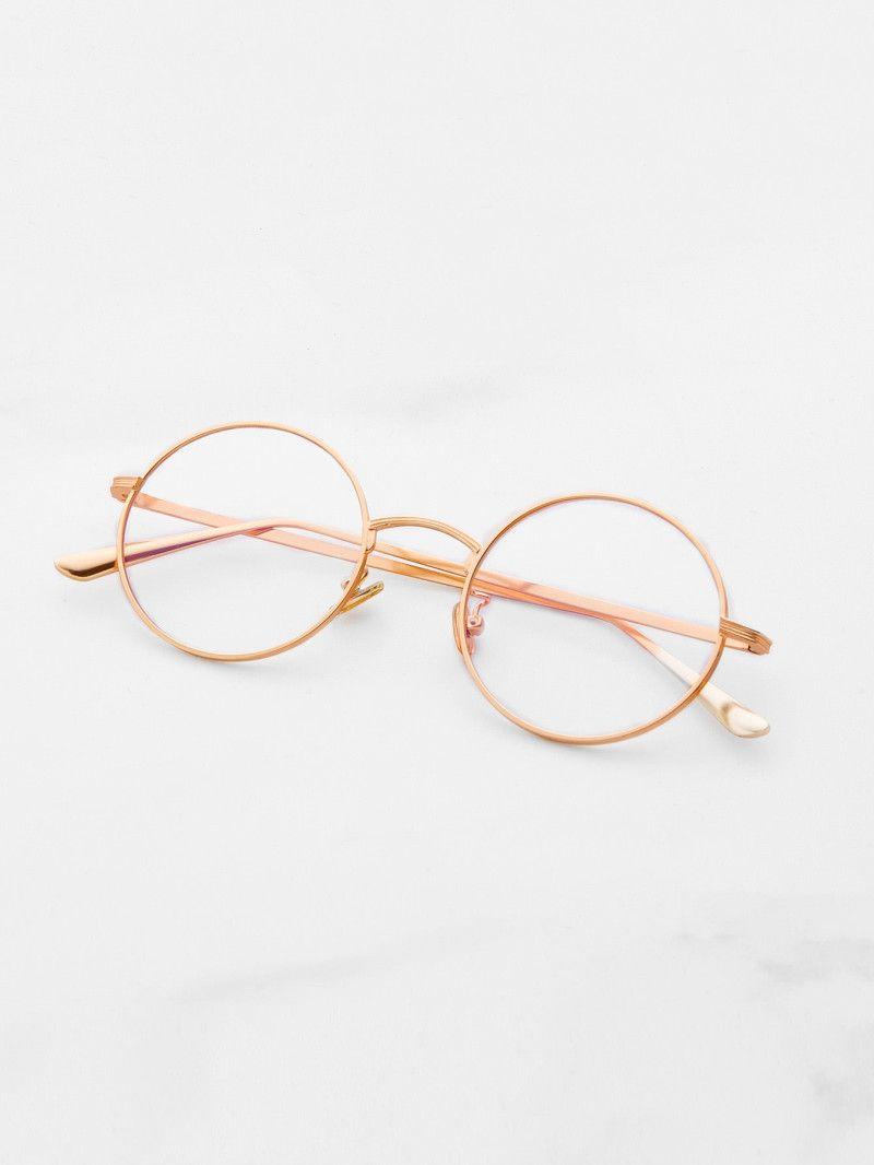 Clear Lens Round Glasses | Pinterest | Lentes, Anteojos y Gafas