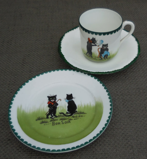 Your Place To Buy And Sell All Things Handmade Childrens Tea Sets Vintage Children Green Decor
