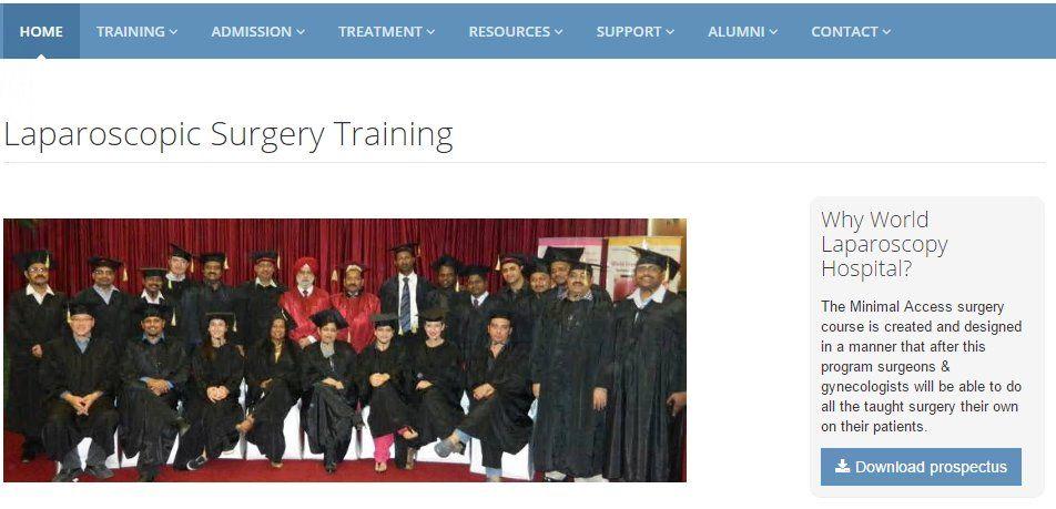 Laparoscopic training institute for Laparoscopic training