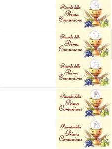 Prima Comunione Biglietti Da Stampare 5 Jpg 226 300 Prima Comunione Comunione Bomboniera