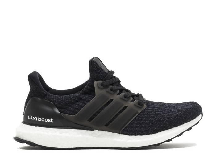 Cheap Real adidas Ultra Boost 3 0 White to Black