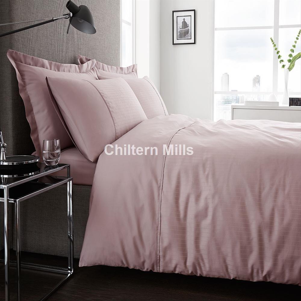 Captivating 300 Thread Count Sateen Dusky Pink Duvet Cover Set Bedroom Ideas