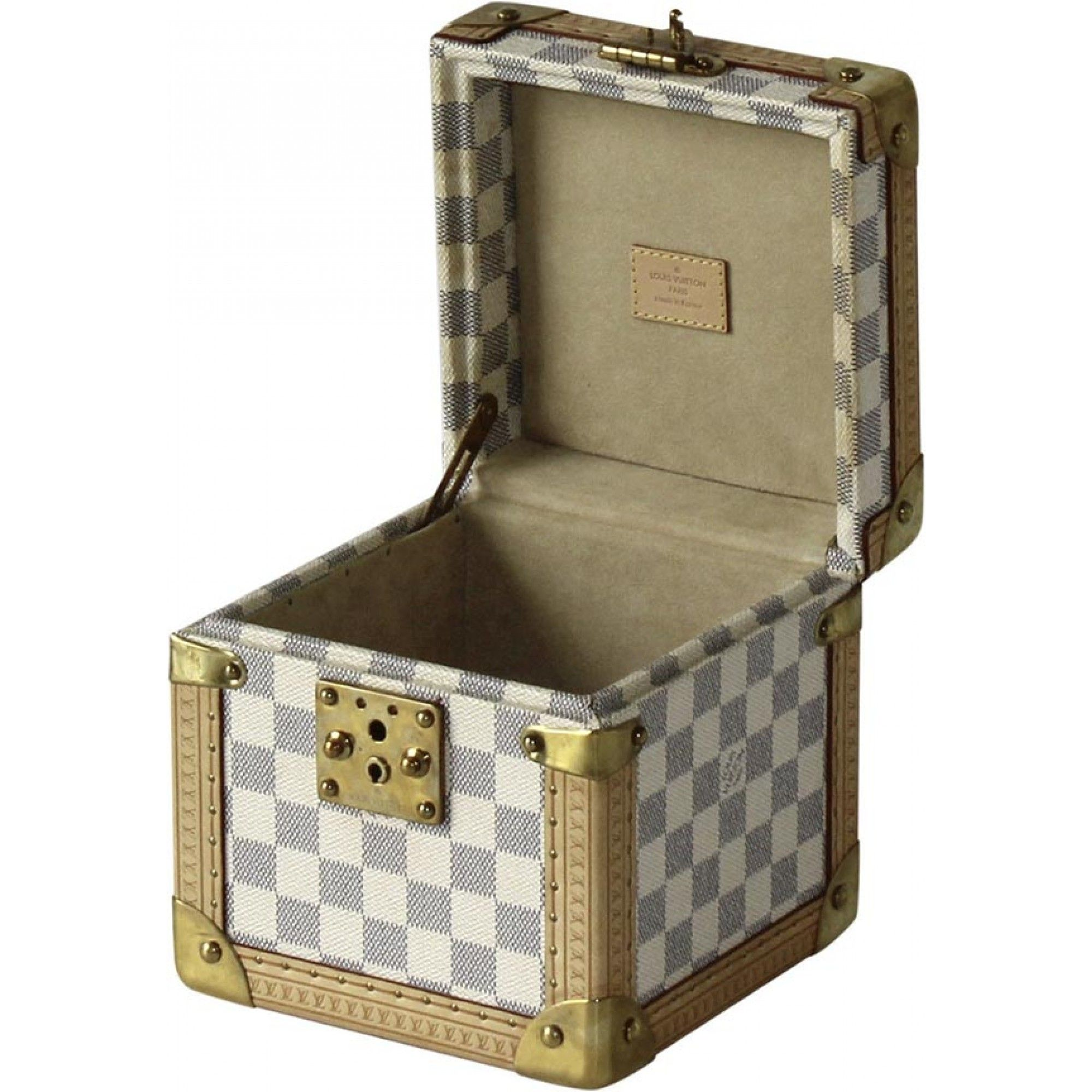 Louis Vuitton Cube Case Damier Azur GM - Louis Vuitton - Brands ...