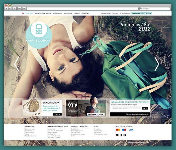 Karine Dupont On Web Design Served Web Design Ecommerce Website Design Website Design
