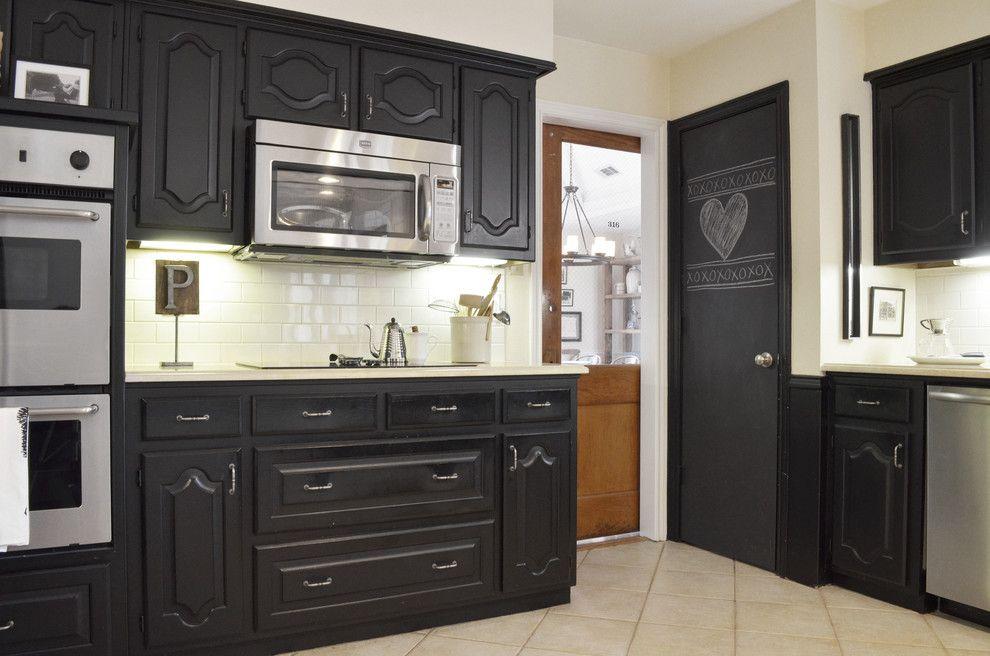 Black Kitchen Cabinets With Chalk Paint Chalk Paint Kitchen