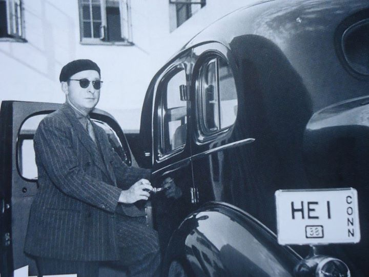 Jascha Heifetz And His Car Jascha Heifetz Violinists