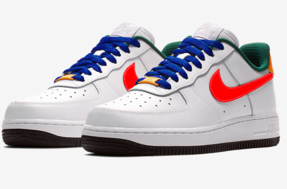 Release Date  Nike WMNS Air Force 1 Low Love Bright Crimson  b9fa7bc365