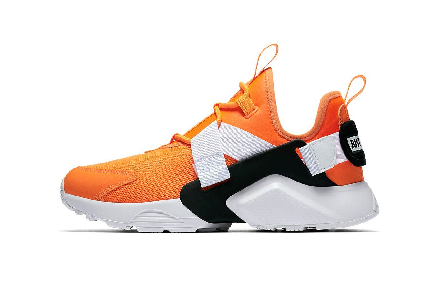 35f8d516724b8 Nike Huarache City low just do it collection orange white black nike  sportswear 2018 august footwear