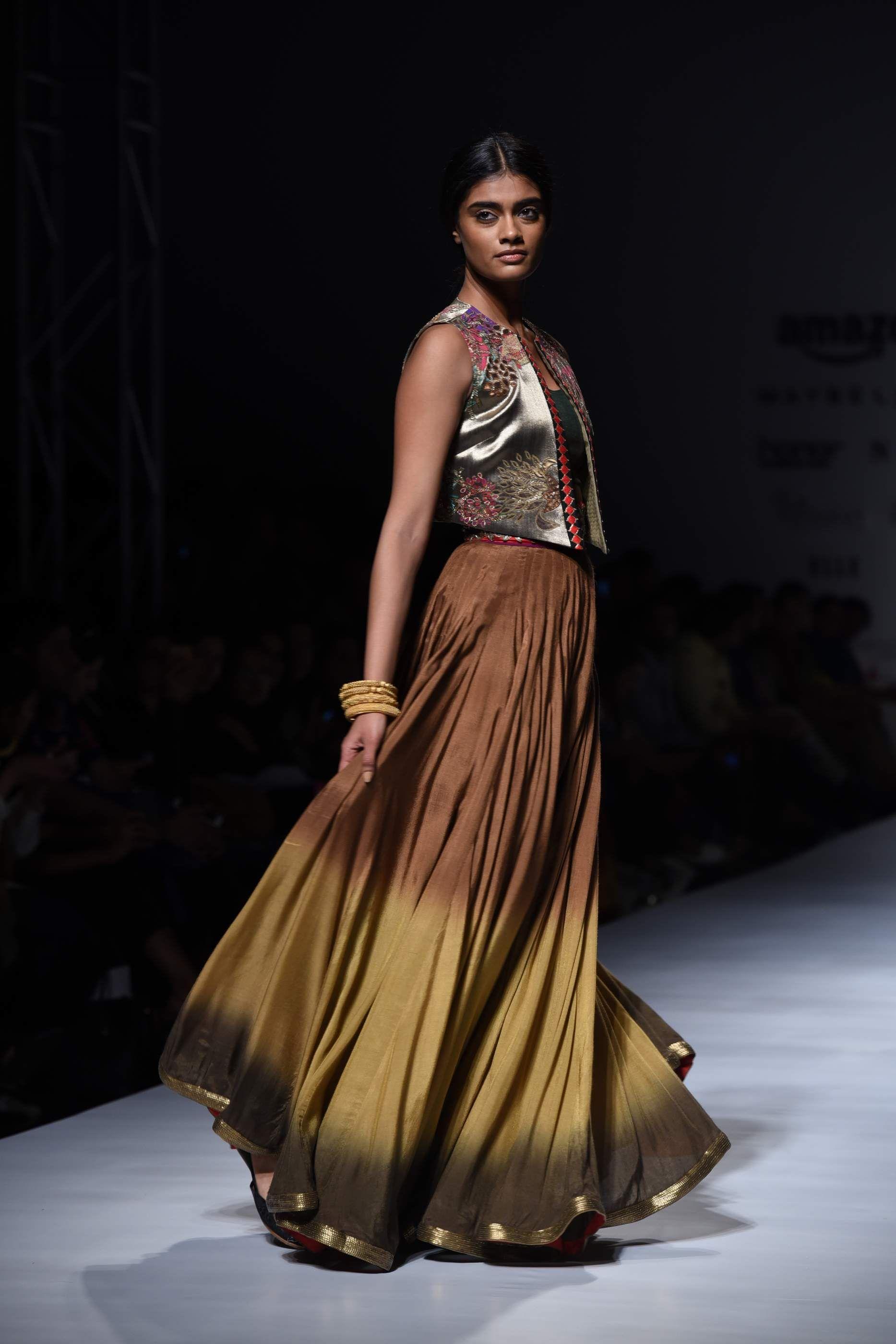 Krishnamehra runway afw indianwear indianfashion