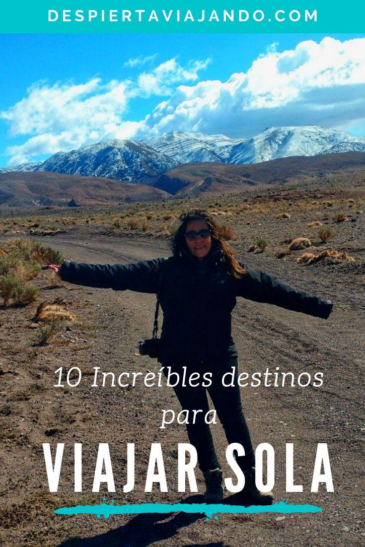 10 Increíbles destinos para viajar sola