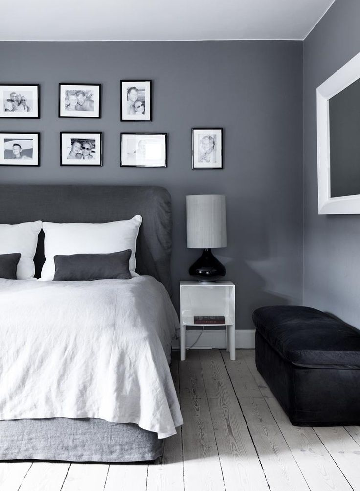 35 Stunning Gray Bedroom Design Ideas | Gray bedroom, Bedrooms and ...