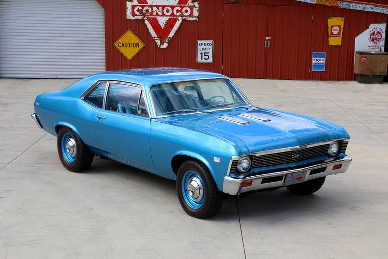 1968 Chevrolet Nova Chevrolet Nova Muscle Cars Chevy Muscle Cars