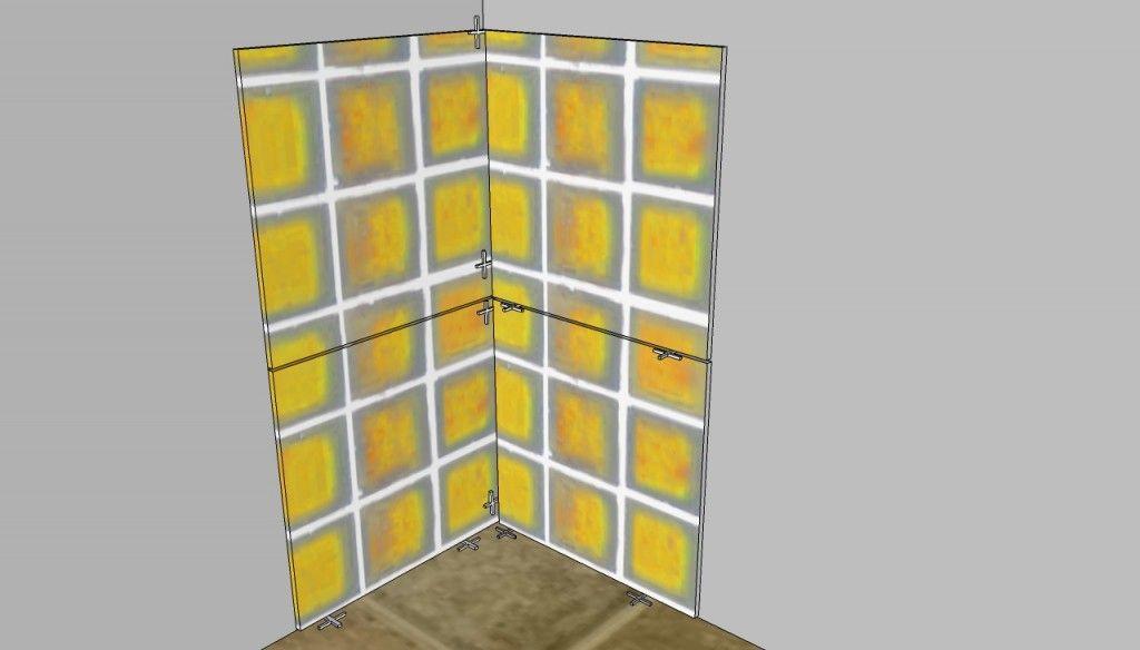 How To Tile Inside Corners Diy Plans Bath Redo Corner Bath