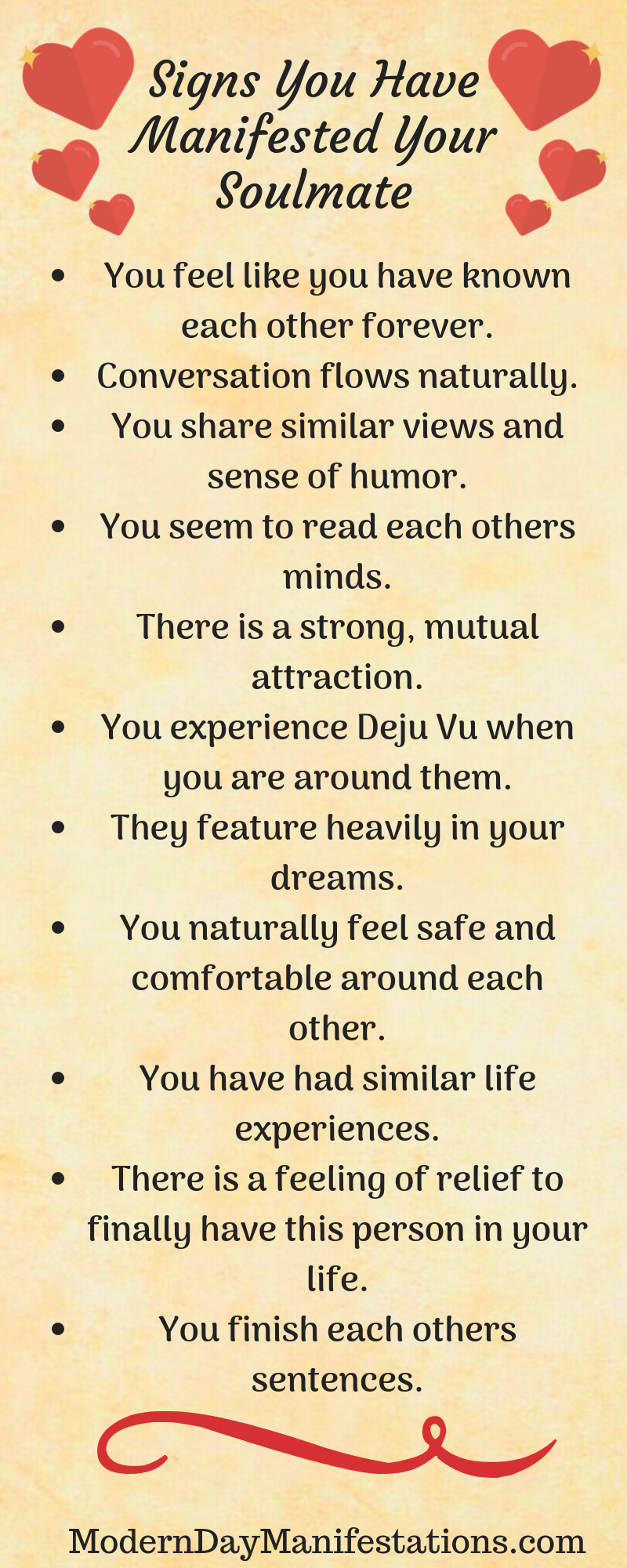 Manifest your soulmate