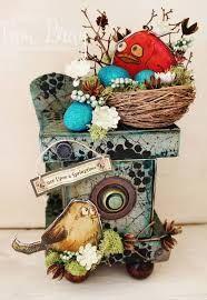 Image result for crazy birds tim holtz