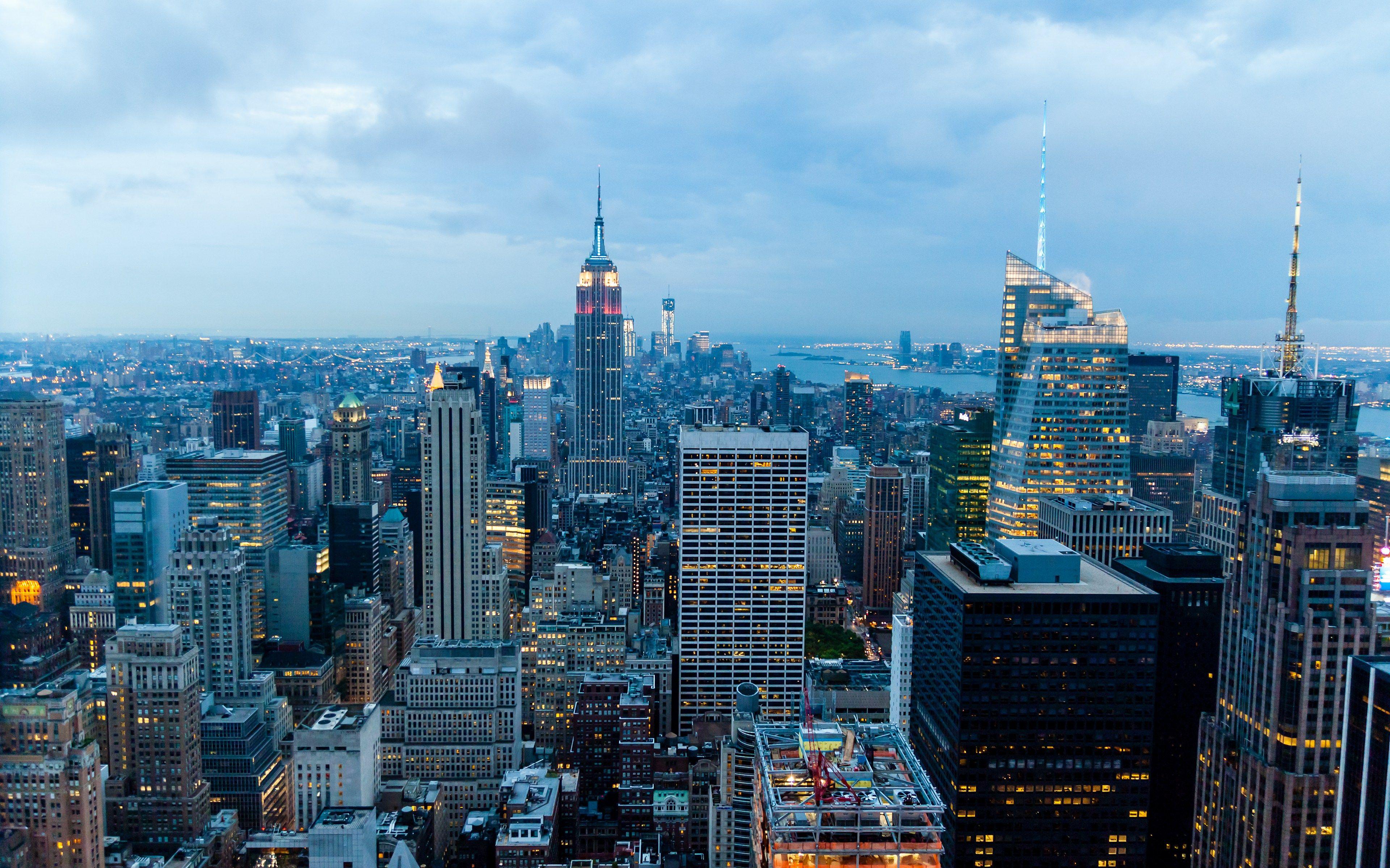 Newyork Hd Wallpapwer Amazing Landscape Download Hd Desktop Mobile Wallpaper And Background I Aesthetic Desktop Wallpaper Manhattan Wallpaper Background Images