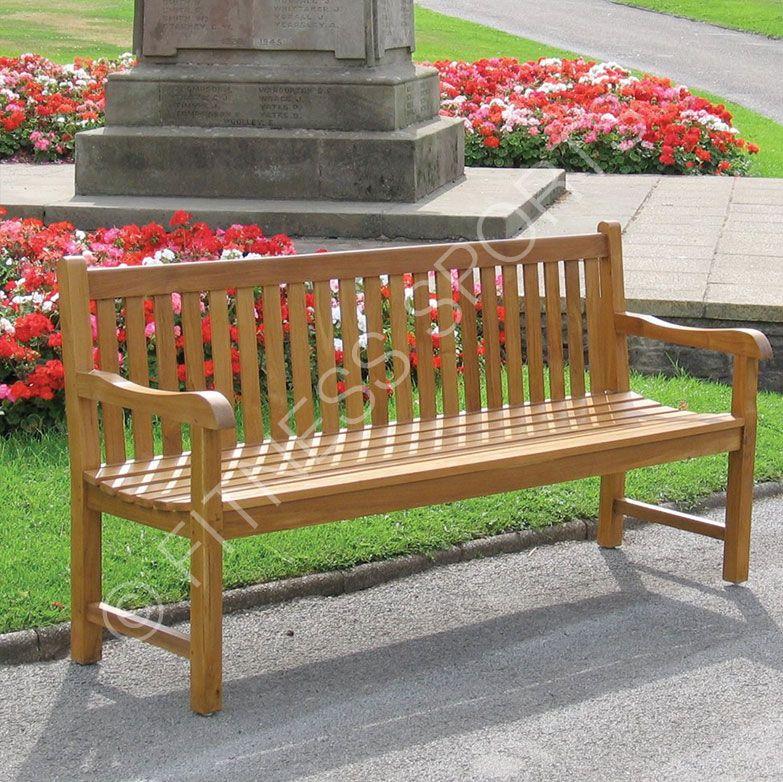 Terrific Hardwood Outdoor Wooden Park Seating Bench Softwood Machost Co Dining Chair Design Ideas Machostcouk