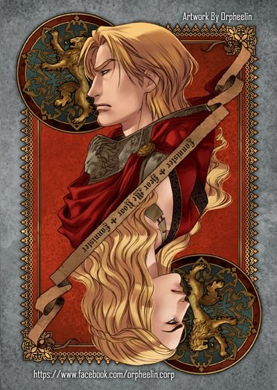 First series of Game of Thrones cards by Orpheelin | Jaime and Cersei #got #agot #asoiaf
