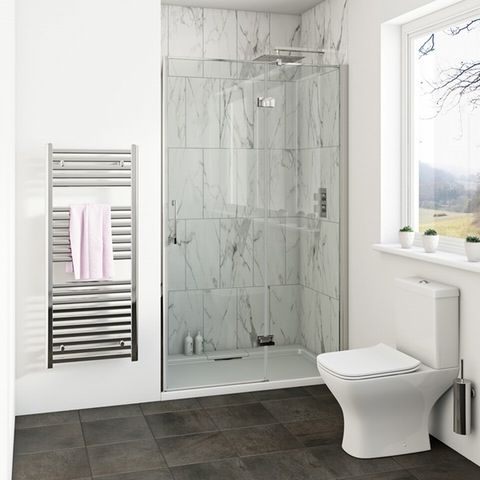 Mode Cooper Premium 8mm Easy Clean Shower Door Easy Clean Shower Shower Doors Sliding Shower Door