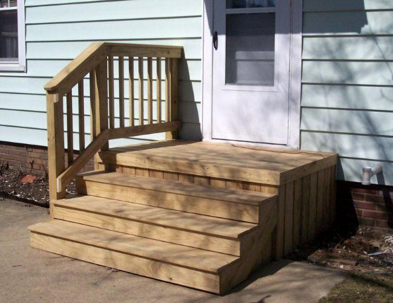 Front stoop ideas, modern wood front stoop designs covered ... |Wood Stoop Construction Ideas