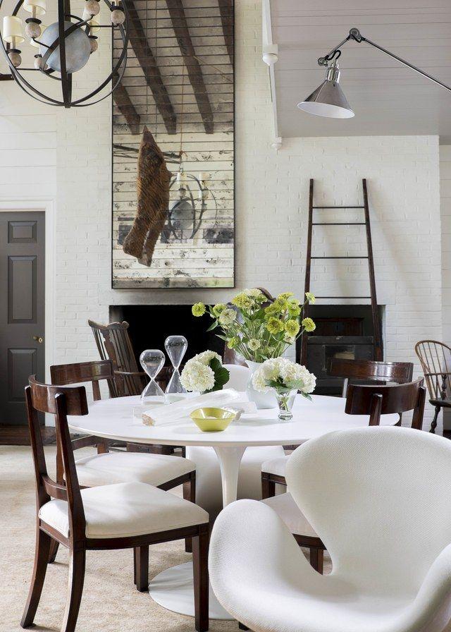 Things We Love Saarinen Dining Tables Dining Saarinen Table And - Tulip pedestal dining table