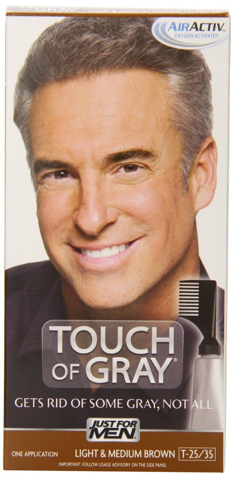 Touch Of Gray Mens Hair Color Review Pinterest Hair Coloring