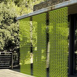 Decorative modern outdoor privacy screen for the home for Large outdoor privacy screen