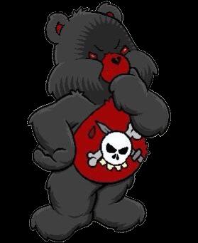 Cybergoth Cyber Goth Grunge Aesthetic Egirl Carebears Freetoedit Remixit Care Bear Tattoos Teddy Bear Drawing Bear Wallpaper