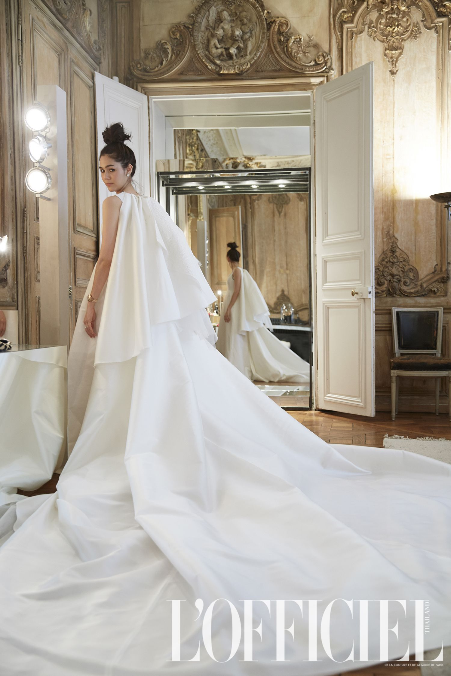 LOfficielThailand-Chompoo-Wedding-giambattista valli-6 | Editorial ...