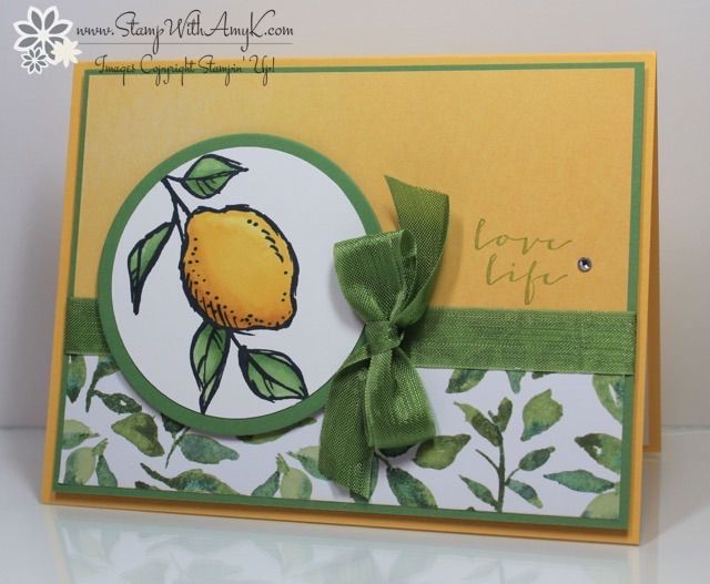 A Happy Thing - Stampin' Up! - Stamp With Amy K