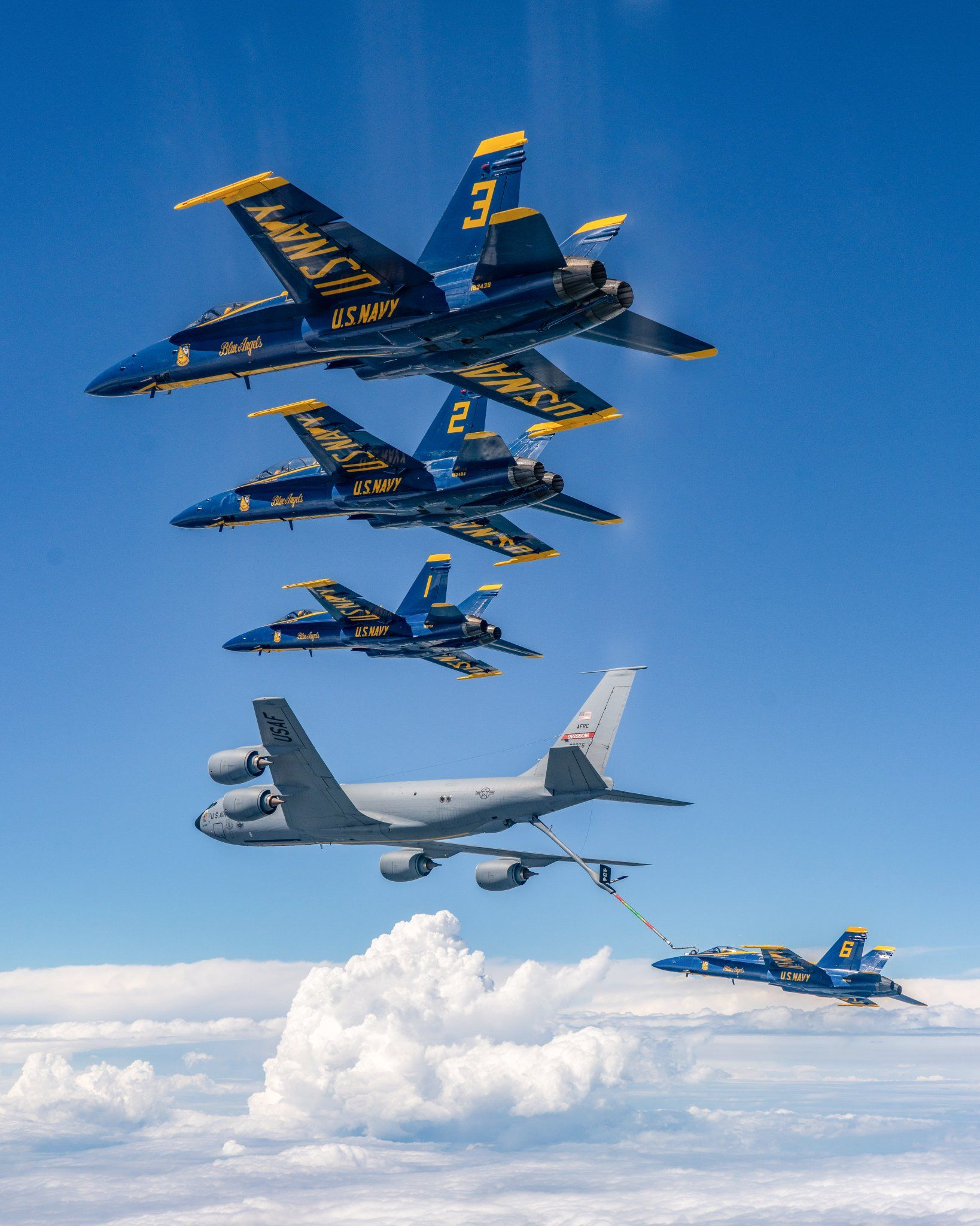 Image by Don on Thunderbirds & Blue Angels Us