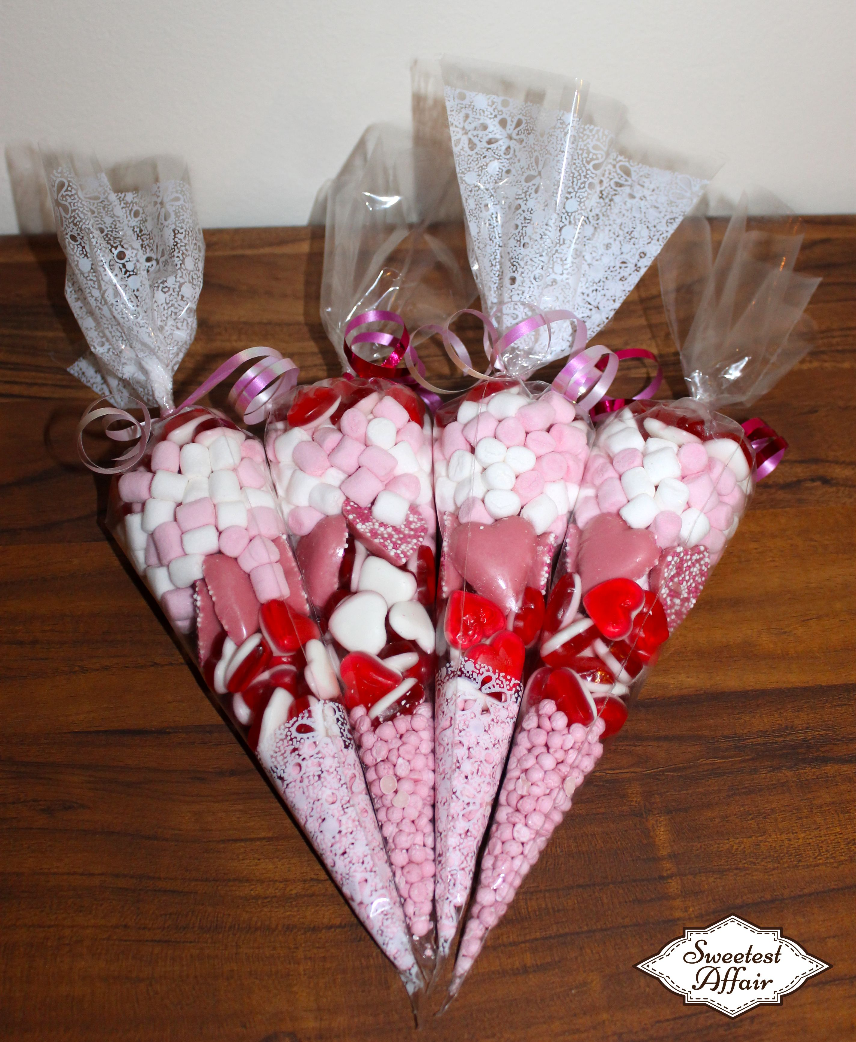 Personalised Pick N Mix Sweet Donut Favour Gift Bags Wedding Candy Cart Buffet