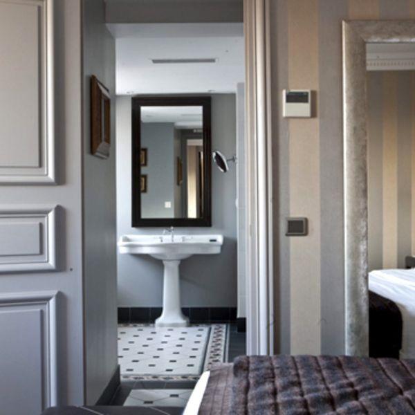 Le charme d\'une salle de bains à l\'ancienne | Deco maison ...